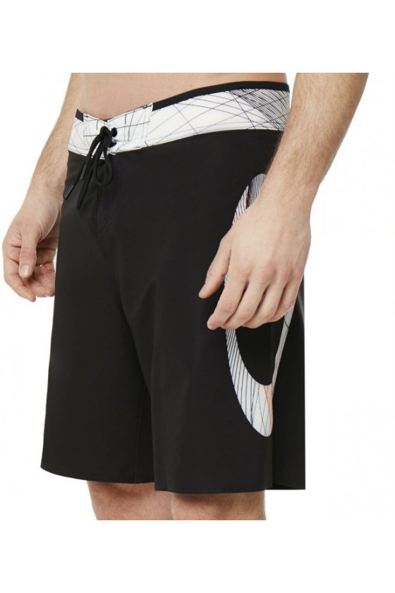 šortky OAKLEY GEO ELLIPSE  18 INCHES BOARDSHORT  Blackout